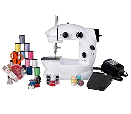 Amazon Mini Sewing Machine 40 Piece Sewing Kit Included SC40K Simple Sewing Kit For Sewing Machine