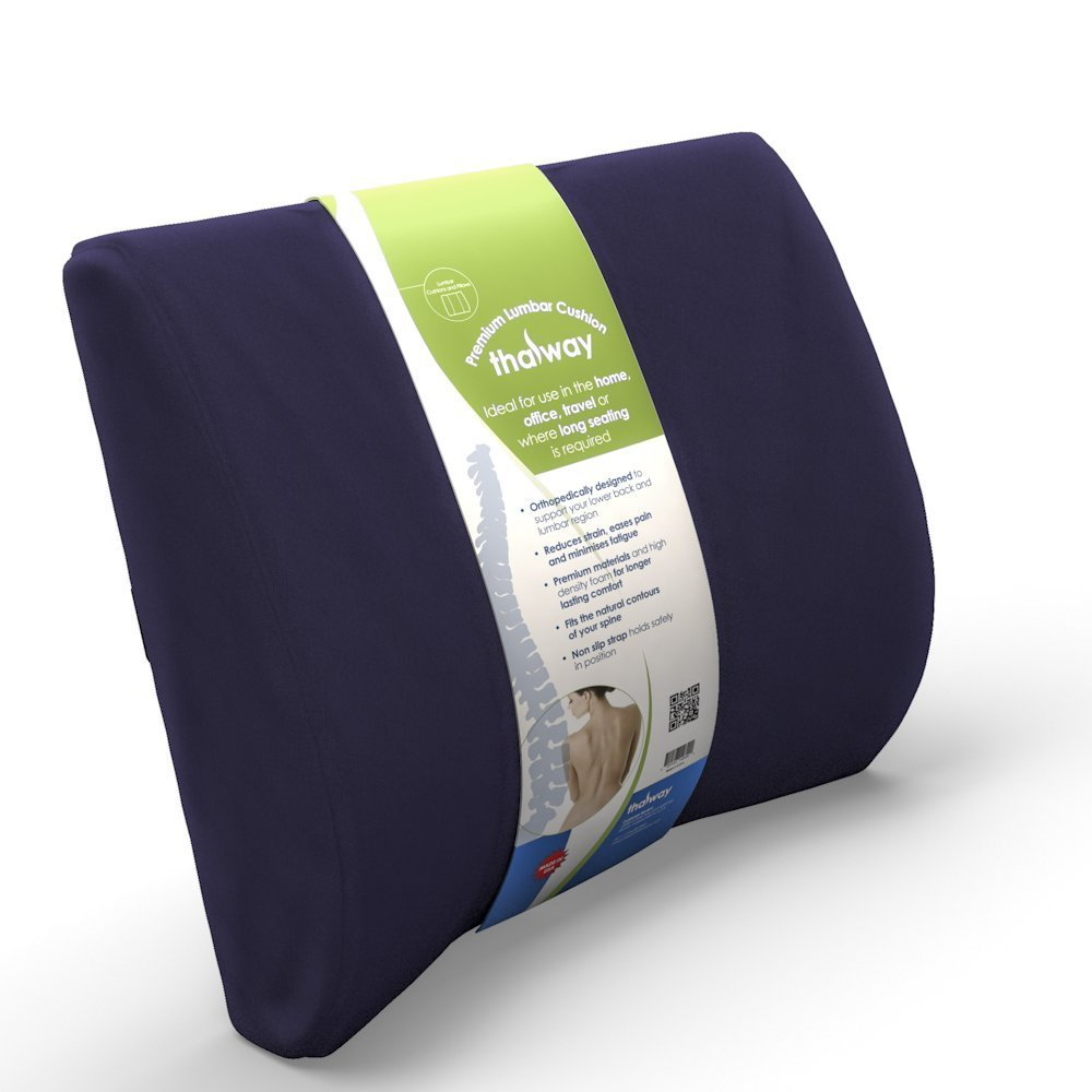 Thalway Best Lower Back Pain Cushion Lumbar Support Seat