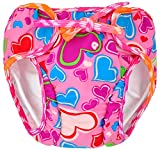 Swim Diapers 2pcs Adjustable and Reusable Swimpants for Baby, 0-3Y, 10-50 lbs Swimmers