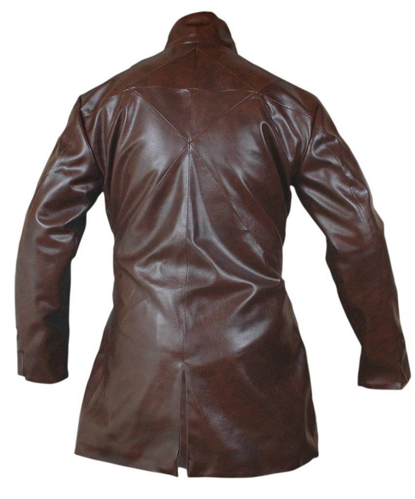 F&H Men's Watch Dogs Aiden Pearce Trench Coat 5XL Brown by Flesh & Hide (Image #2)