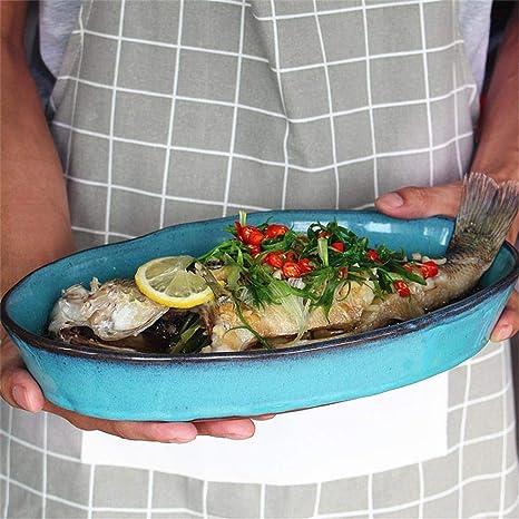 zdw Vajilla, herramientas para comer pescado grande Ensalada ...