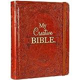 My Creative Bible KJV: Tan Hardcover Bible for Creative Journaling