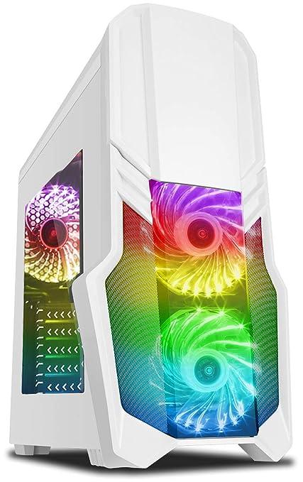 Vibox Pyro GL950T-253 Gaming PC Ordenador de sobremesa con 2 Juegos Gratis, Windows 10 OS (4,0GHz AMD Ryzen Quad-Core Procesador, Nvidia GeForce GTX ...