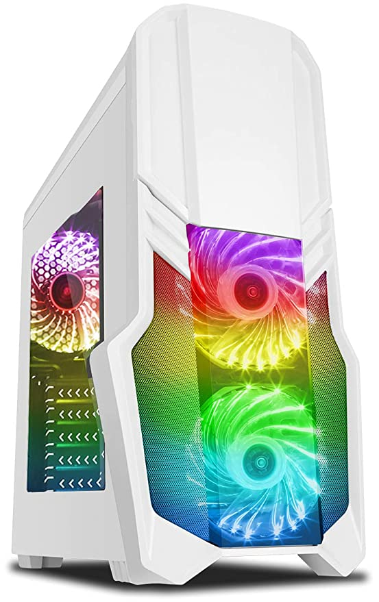 Vibox Pyro GL950T-253 Gaming PC Ordenador de sobremesa con 2 Juegos Gratis, Windows 10 OS (4,0GHz AMD Ryzen Quad-Core Procesador, Nvidia GeForce GTX ...