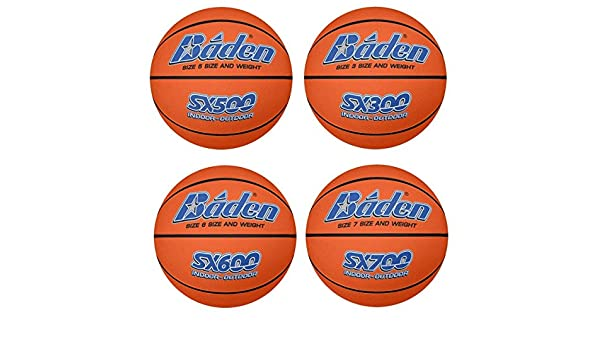 Baden SX Serie Interior / Exterior De color Pelotas de baloncesto ...
