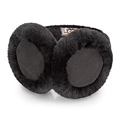 Ugg® Australia Shearling Wired Femme Cache-Oreilles Noir