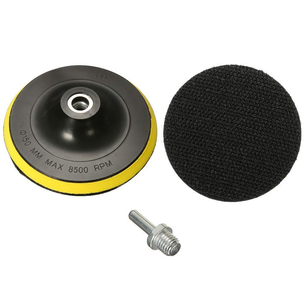dischi abrasivi per levigatura e lucidatura con supporto in velcro grana 1000-3000 dischi abrasivi da 125 mm 50 pezzi CynKen