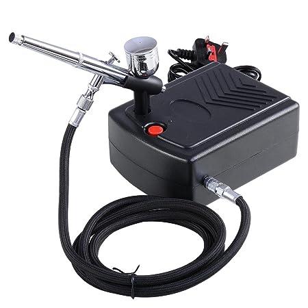 Reasejoy Pro Airbrush Compressor 03mm 7cc Dual Action Spray Gun