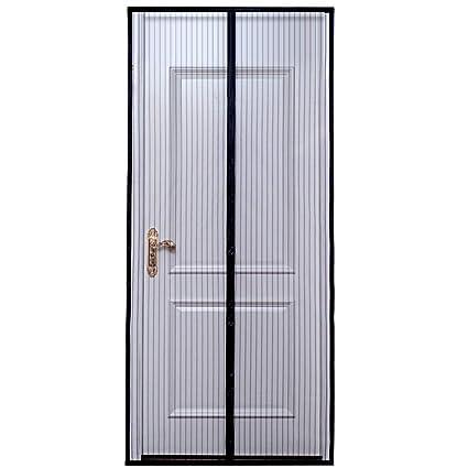 Magnetic Screen Door Mesh Curtain Fits Doors Up To 34 X 82 Max
