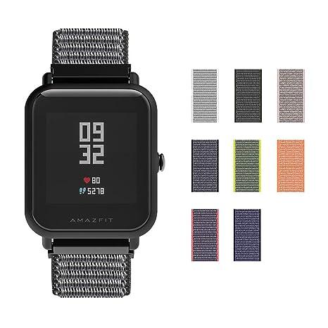 SIKAI 20mm Correa Compatible con Sanxin Galaxy Gear S2 Classic SM-R7320 Reemplazo de Reloj Pulseras de Repuesto Deportivas Strap de la Muñeca ...
