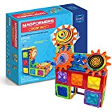 Magformers Magnets in Motion Set (37-pieces) Magnetic Building Blocks, Educational Magnetic Tiles Kit, Magnetic Construction STEM gear science Toy Set