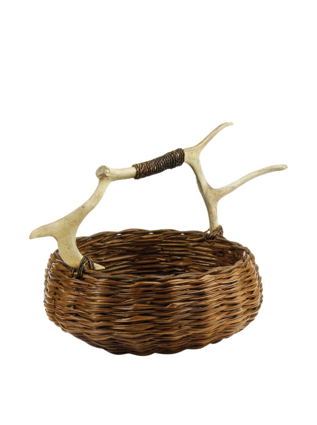 Amazon.com: Napa Home & Garden 8023 Caribou Small Round Basket: Home ...