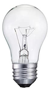 Philips 416768 Clear Appliance 40-Watt A15 Light Bulb