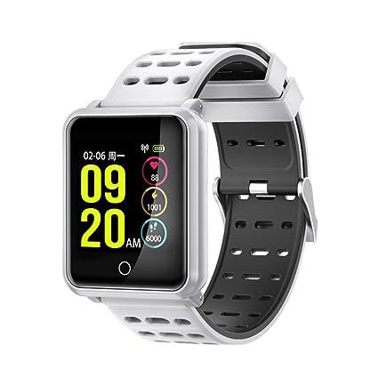 Reloj Inteligente Unisex Con Pantalla Táctil OLED De Color 1.3Inch Pantalla LED HD Soporte Bluetooth