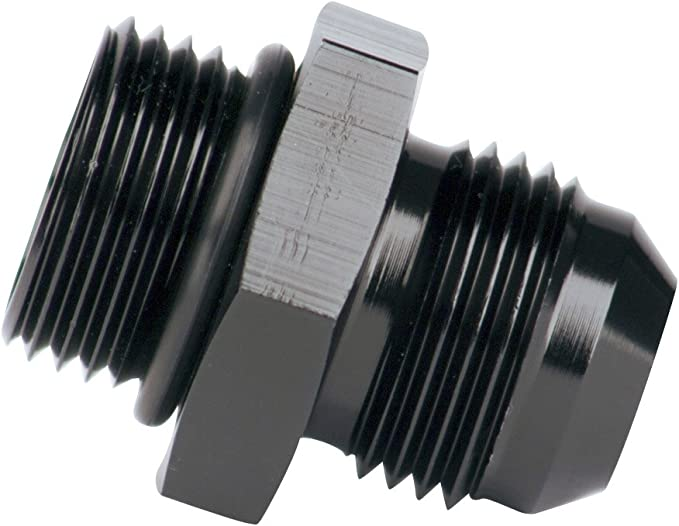 Aeromotive 15613 AN-12 O-ring Boss//AN-10 Male Flare Reducer Fitting