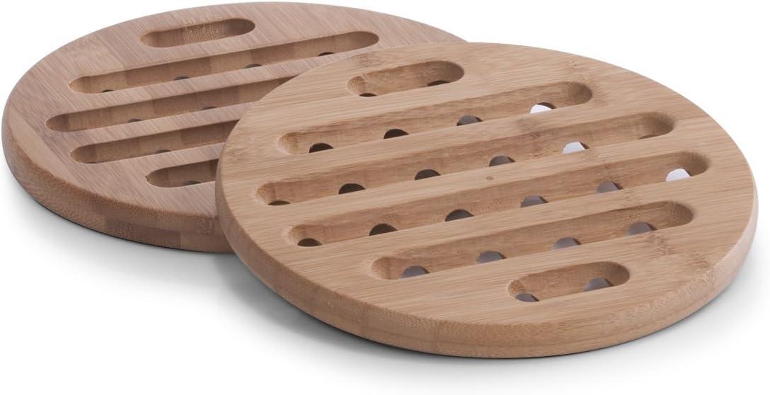 20 x 1,5 cm Zeller 25268 dessous de plat en bambou