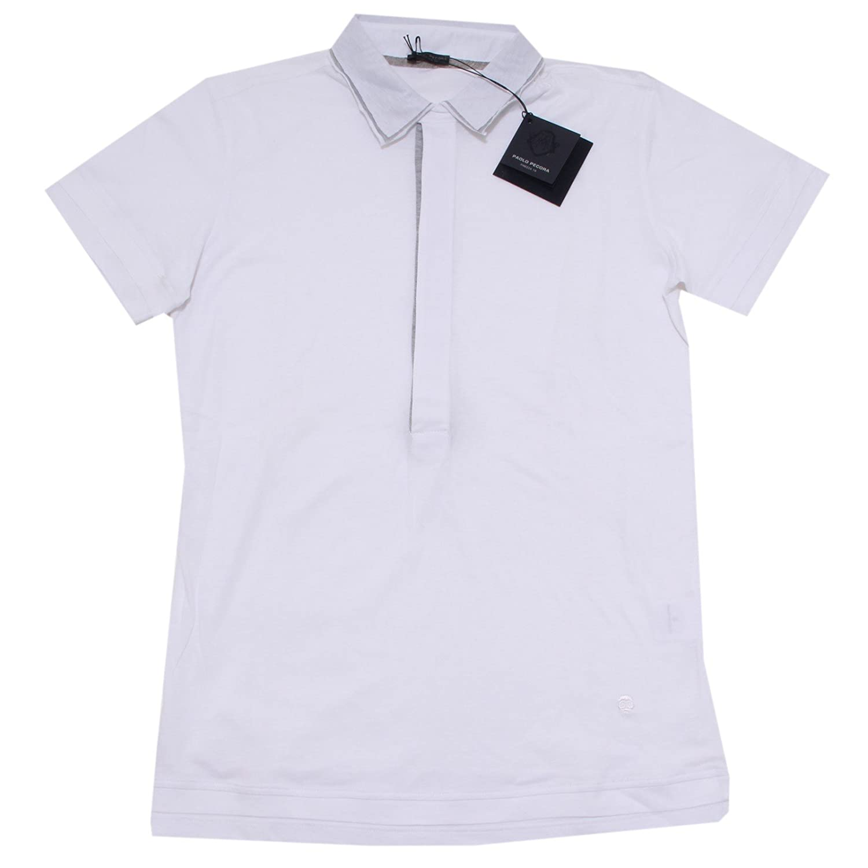 PAOLO PECORA 3965I Polo uomo Slim fit Manica Corta t-Shirt Man [S ...