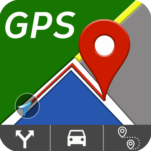 Gps City Driving Route  Location Finder Maps