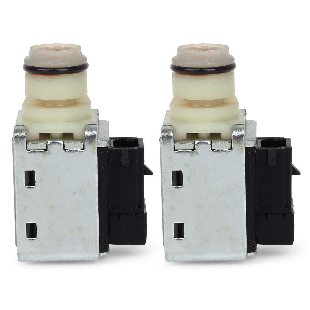 Partsam 4L6E Shift Solenoids New OEM Transmission Compatible With 93-UP Chevrolet