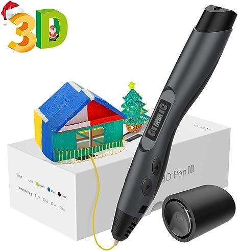 Plumas 3D, Aerb 3D Pen Bolígrafo de Impresión Estereoscópica con ...