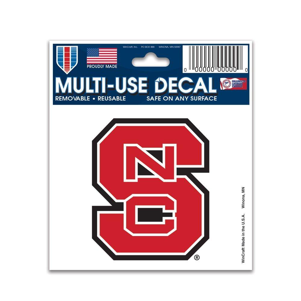 NCAA Multi-Use Decal (3''x4'') (North Carolina State Wolfpack)