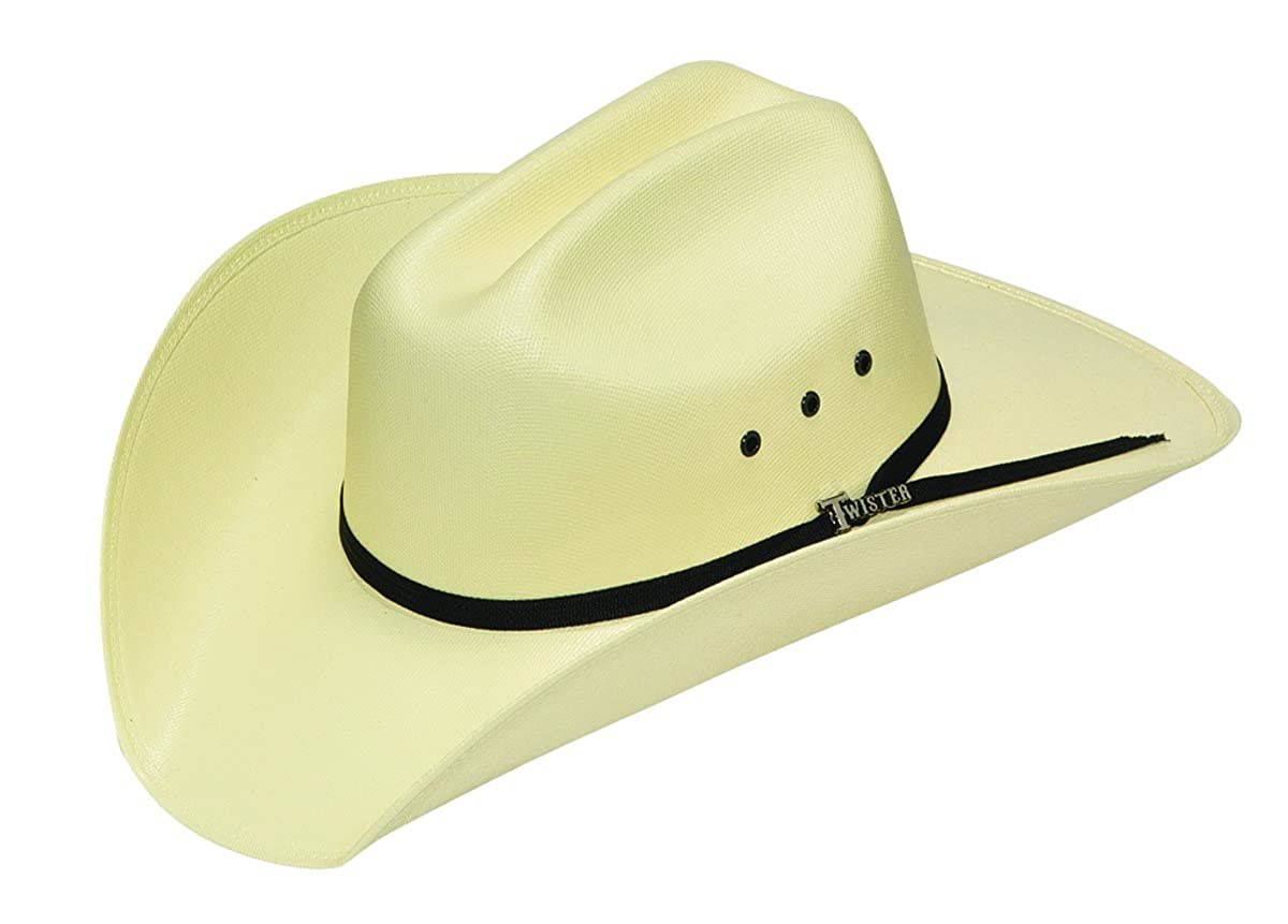 Amazon.com  M F Western Unisex Twister Cowboy Hat (Little Kids Big Kids)  Natural LG  Clothing 8035e9a0327