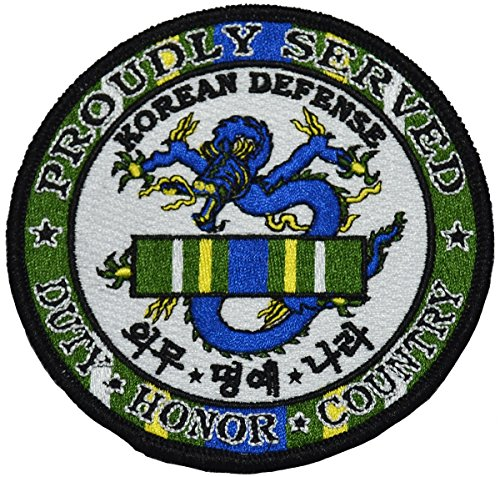 Korean War Service Medal - Korean Defense Service Medal Patch