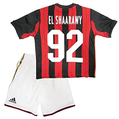 release date: 6720d b3c08 Amazon.com: Adidas AC MILAN HOME MINI KIT - 2013/14 (EL ...