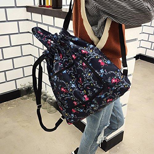 Women Sports Backpack 2 Travel Drawstring Gym Lightweight Foldable Bag Antrygobin Fashion YgXHHZ