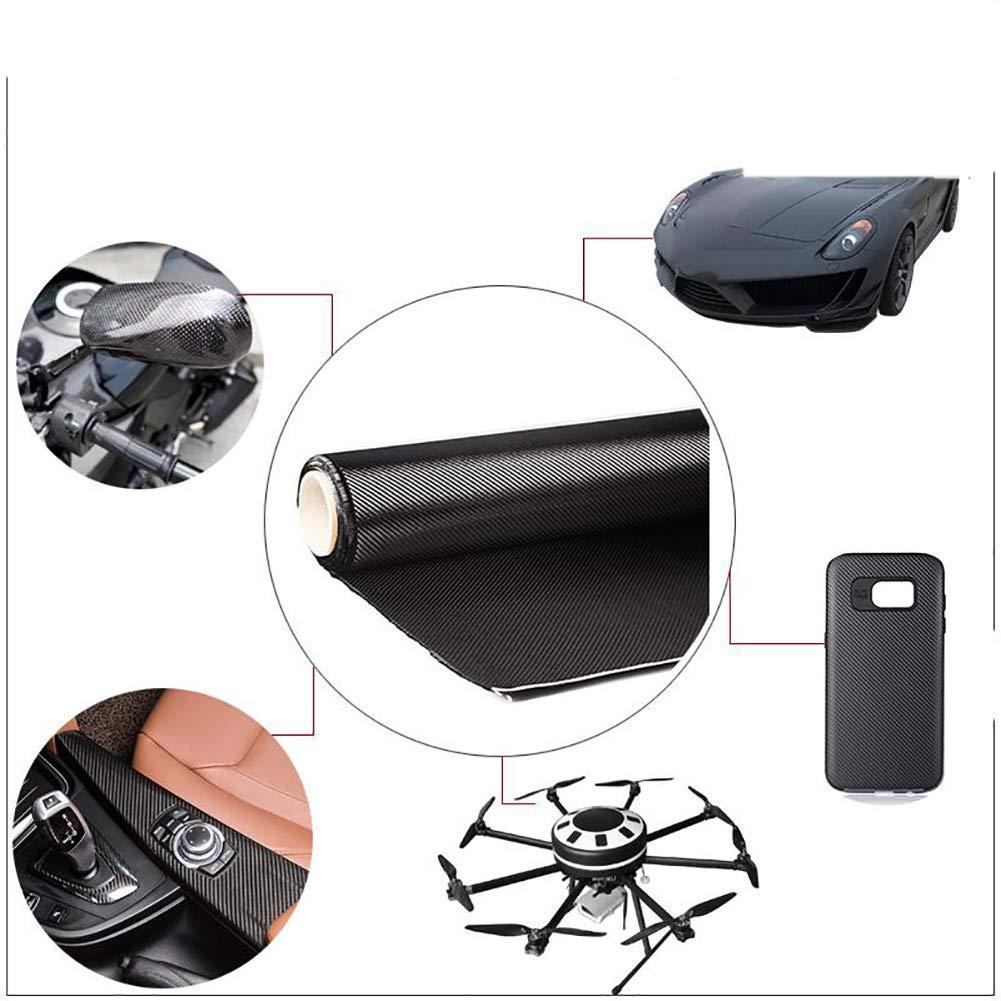 SOFIALXC Carbon Fiber Fabric Fiber Cloth 240g//m/² Plain Weave 50cm x 200cm 19.7inch x78.7inch
