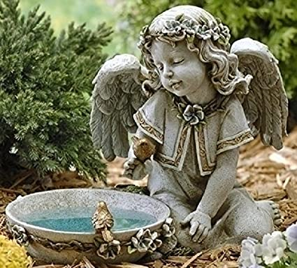 Amazon.com: Joseph Studio 62852 - Estatua de baño de ángel ...
