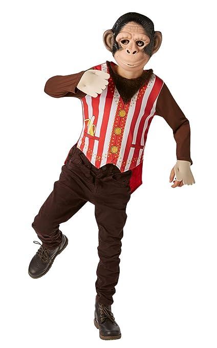 Rubies Oficial Mr Monkey Fancy Dress Boys Circo Libro de ...