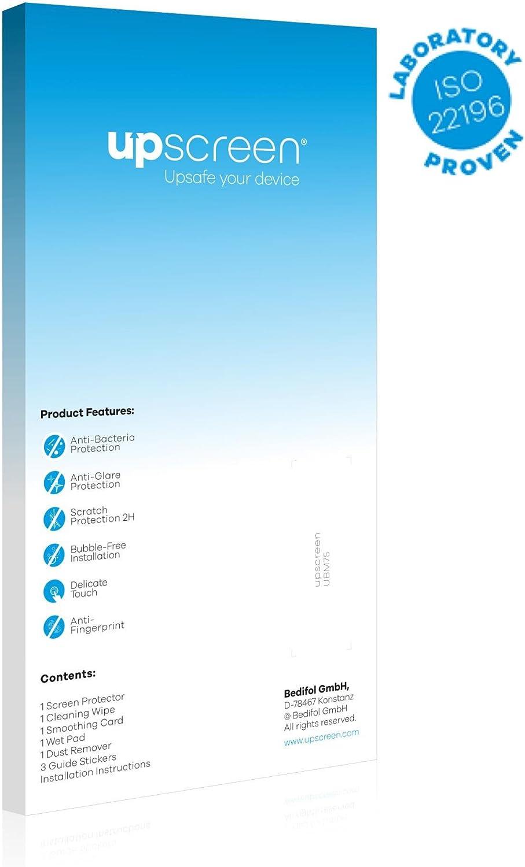 antibakterieller Schutz, matt - entspiegelt upscreen Bacteria Shield Matte Displayschutz Schutzfolie f/ür Garmin zumo XT