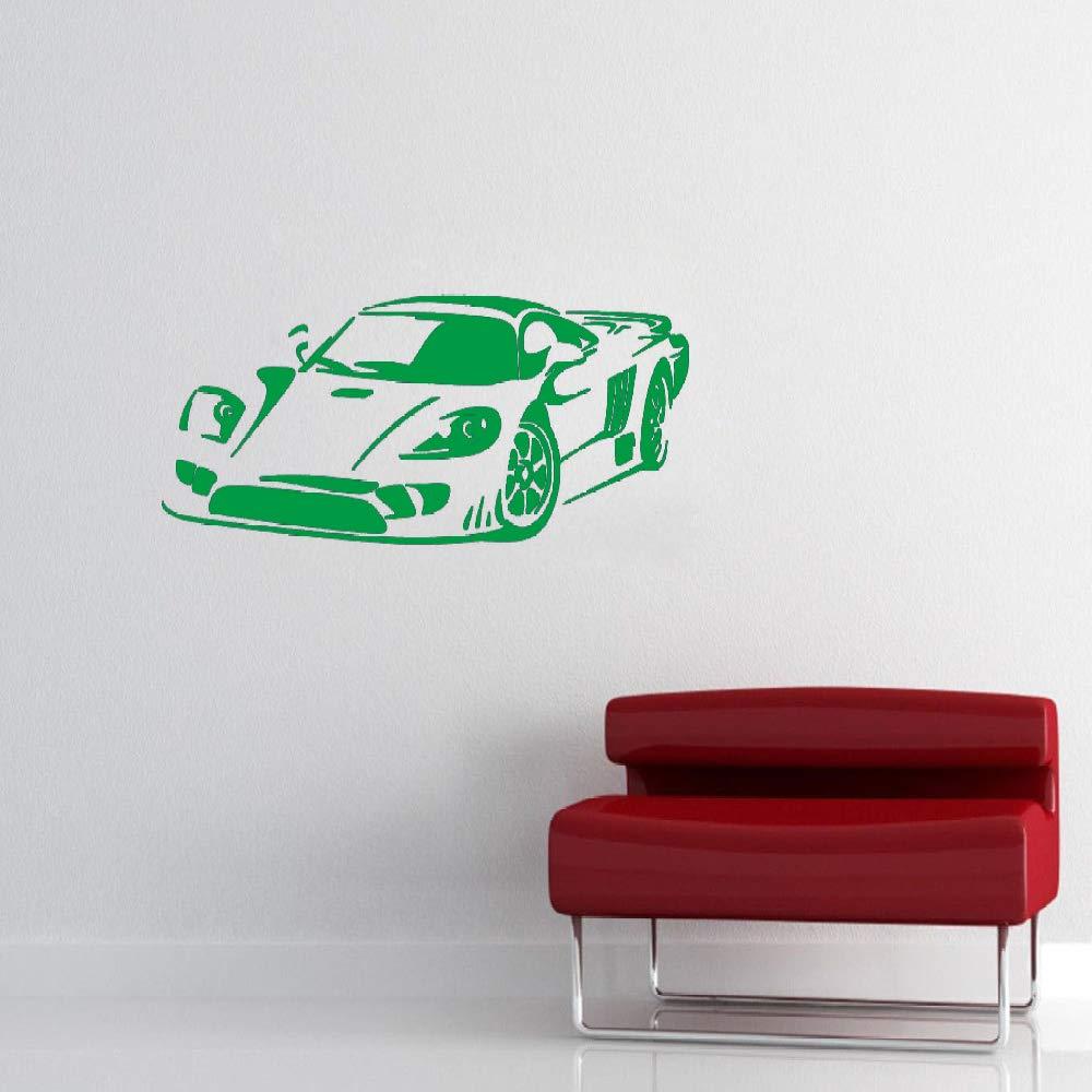 jiuyaomai Famoso Racing Car Wall Stickers Niños Dormitorio Auto ...