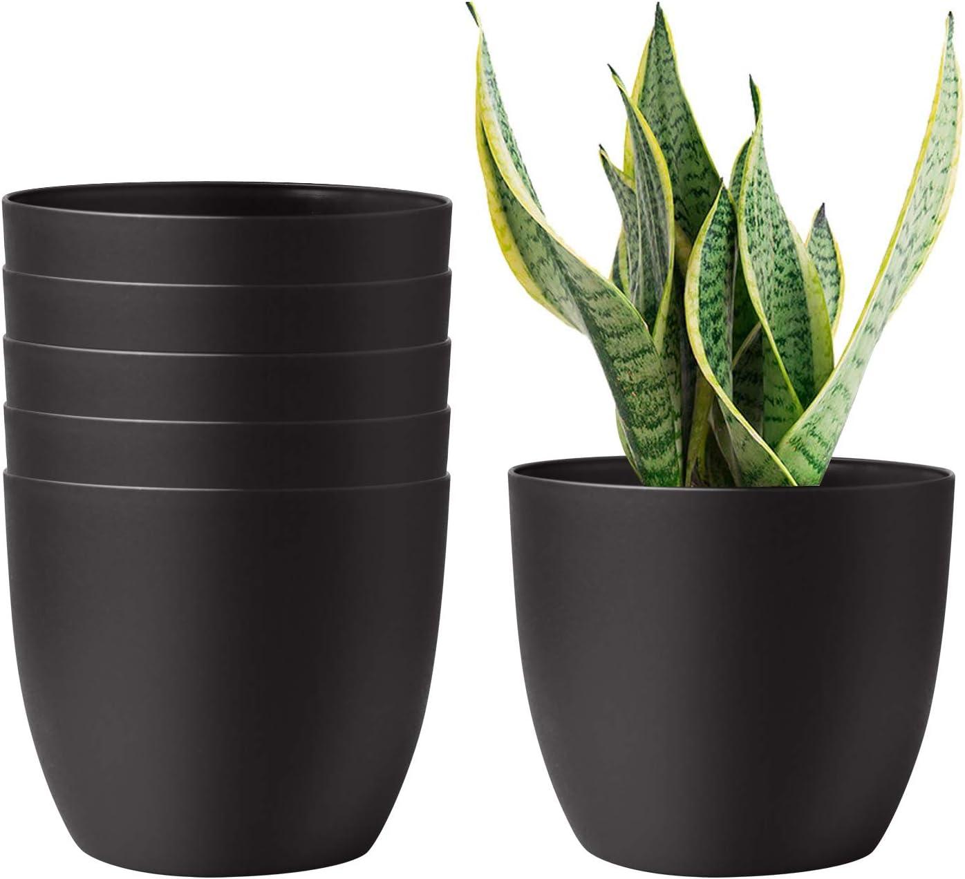 T4U Self-Watering Plastic Plant Pot