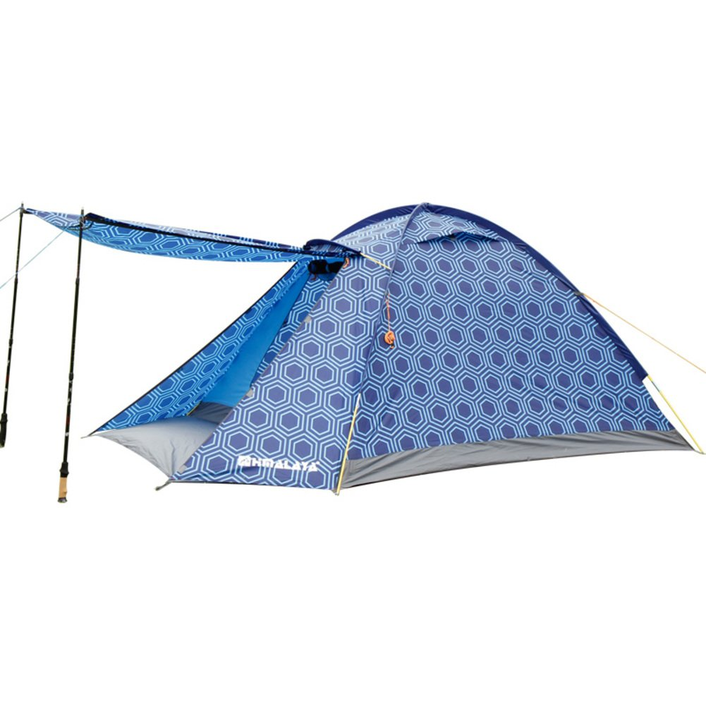 DXG&FX de Plein air3-4 Tente de Voyage Timbres Enfants Double Team The Rain Couleurs de Bonbons Tente de Camping Bright B -