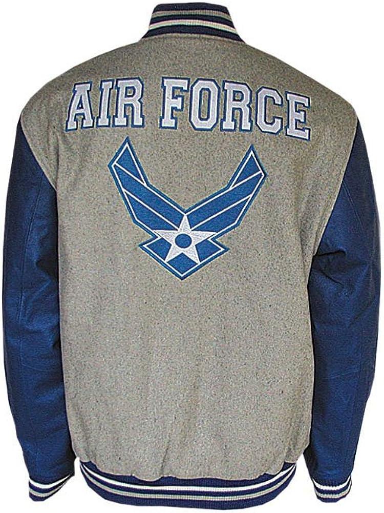 JWM Mens Varsity Jacket US Air Force
