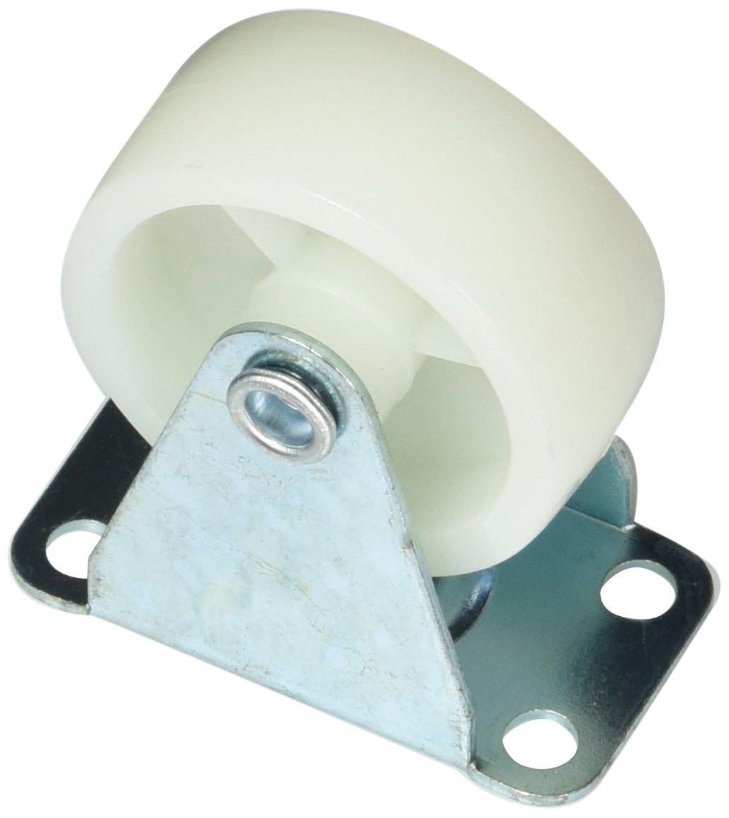 Uxcell a12050200ux0055 2 Pcs Fixed Metal Top Plate 1.5 Diameter Rigid Caster Wheel