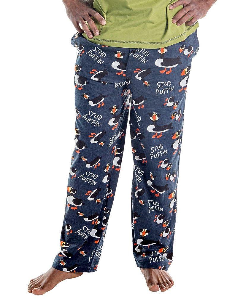 LazyOne Unisex Stud Puffin Pyjama-Hosen
