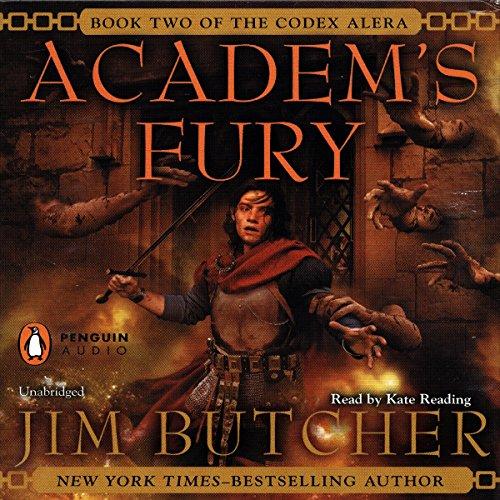 Academ's Fury: Codex Alera, Book 2 cover
