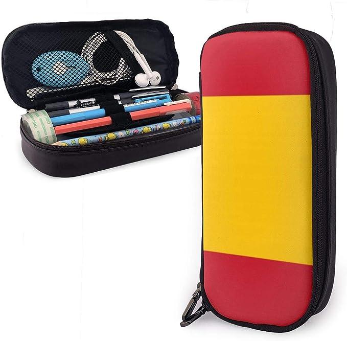 UKFaaa - Estuche de Piel con Cremallera para lápices, diseño de ...