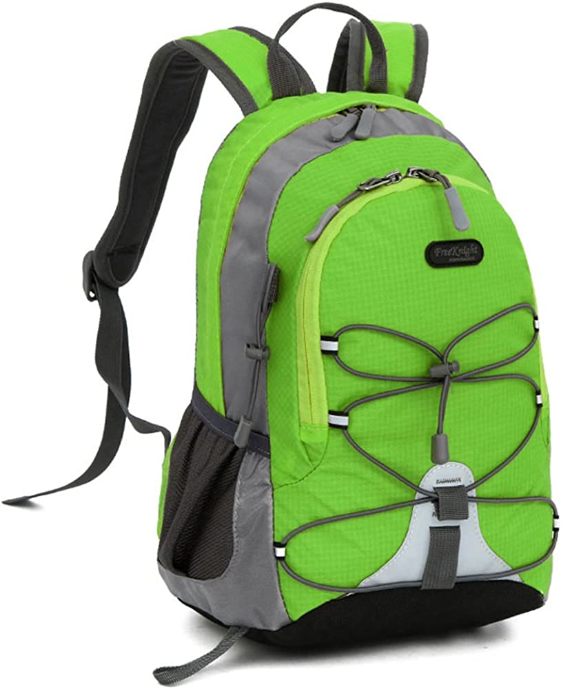 Small Size Waterproof Sport Backpack,10 inches Ultra Light backpack,Suitable for Height Under 4 feet,for Girls Boys Traveling