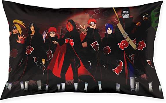 Amazon.com: Fundas de almohada Naruto Shippuden All Akatsuki ...