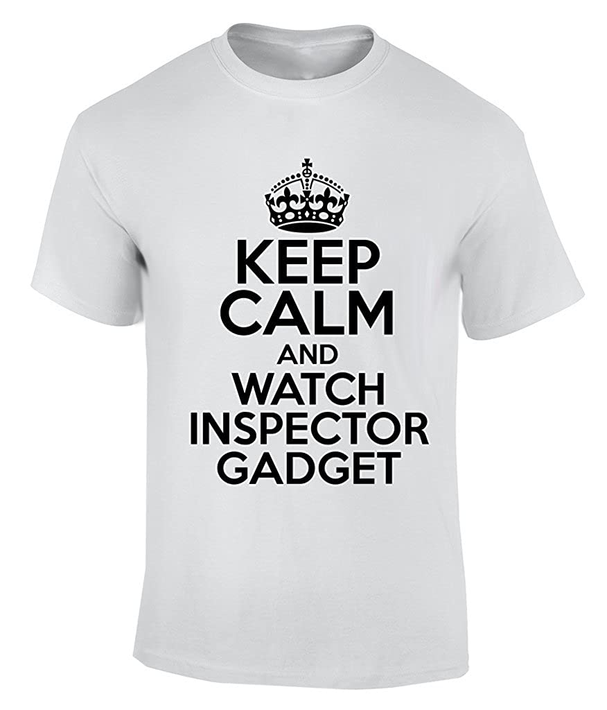 Keep Calm AND WATCH INSPECTOR GADGET - XX-Large T-Shirt: Amazon.co ...