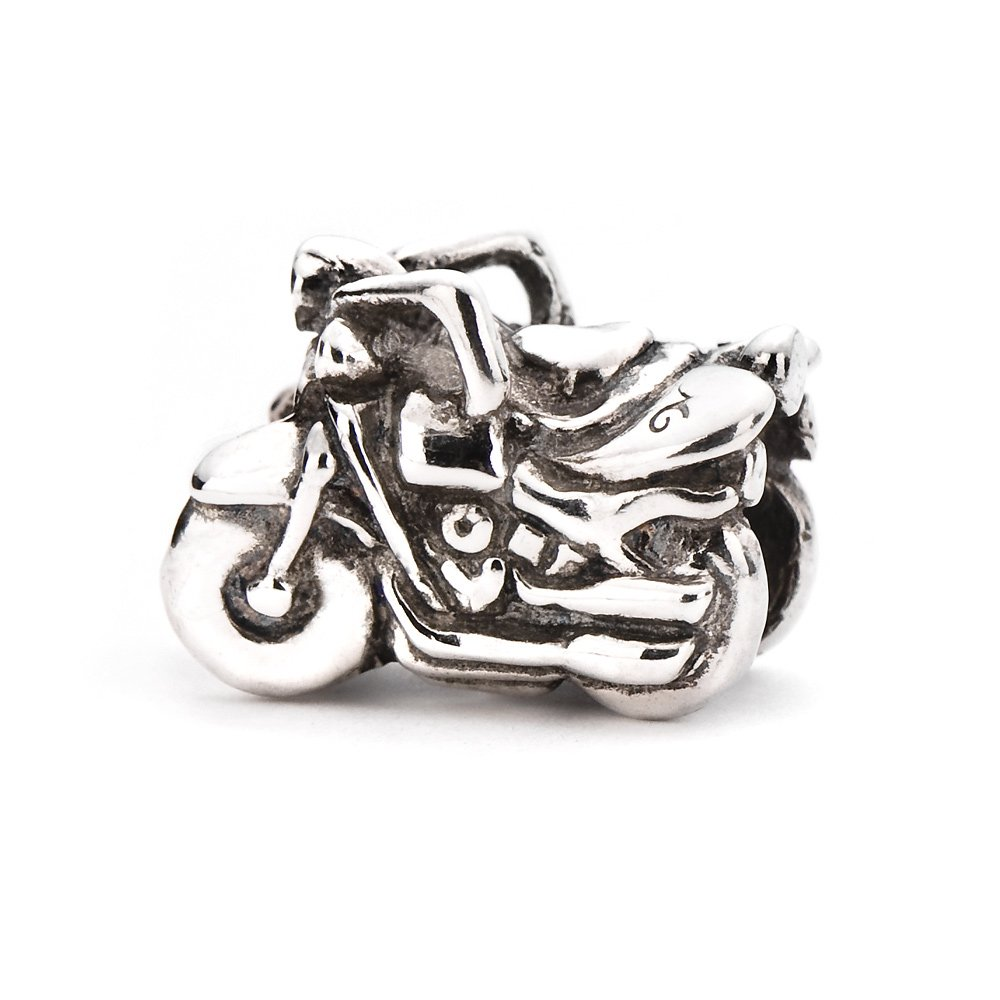 Novobeads Authentic Sterling Silver 1441 Motorcycle Silver