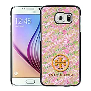 Fahionable Custom Designed Samsung Galaxy S6 Cover Case With Tory Burch 28 Black Phone Case