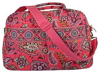 Vera Bradley Weekender Luggage Bag in Call Me Coral