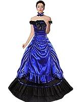 Partiss Women Multi-Layer Gothic Victorian Fancy Dress