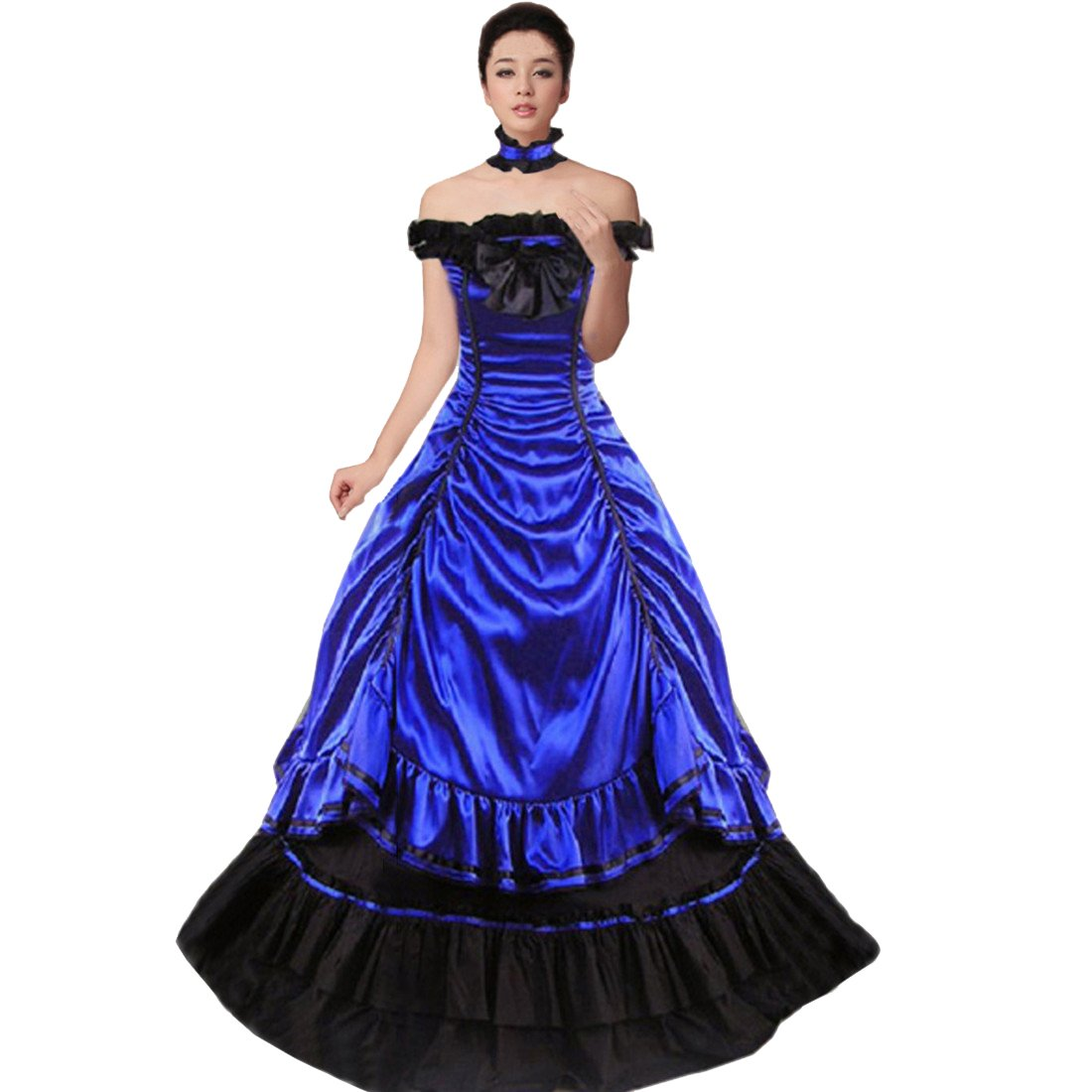Multi-Layer Gothic Victorian Fancy Dress