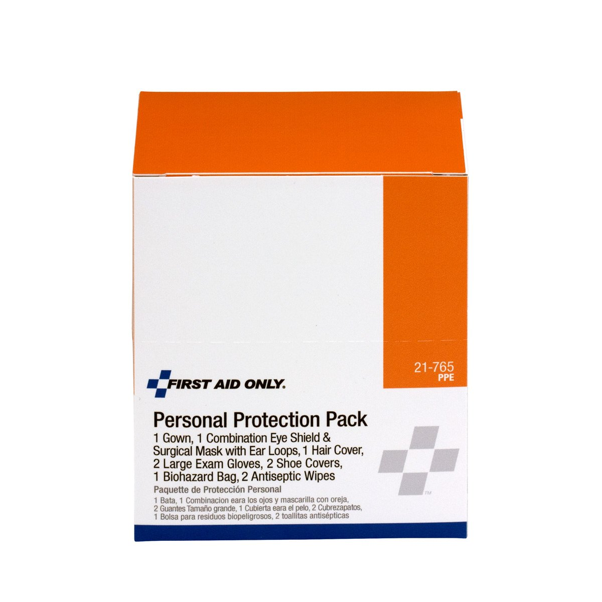 Pac-Kit by First Aid Only 21-765 7 Piece BBP Protective Apparel Pack: Science Lab First Aid Supplies: Amazon.com: Industrial & Scientific